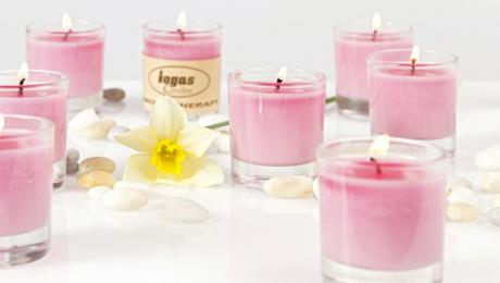 5-те аромата, носещи щастие - ароматни свещи