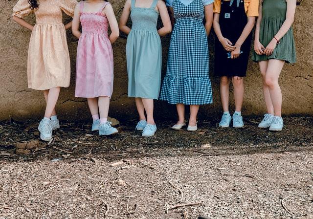 макси рокля